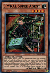 SPYRAL Super Agent - TDIL-EN086 - Ultra Rare - 1st Edition on Channel Fireball