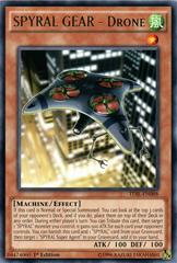 SPYRAL GEAR - Drone - TDIL-EN088 - Rare - 1st Edition