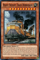 Heavy Freight Train Derricrane - TDIL-EN090 - Common - 1st Edition on Channel Fireball