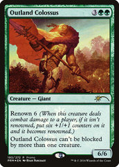 Outland Colossus - Foil