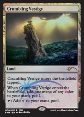 Crumbling Vestige - FNM Promo 2016 on Channel Fireball