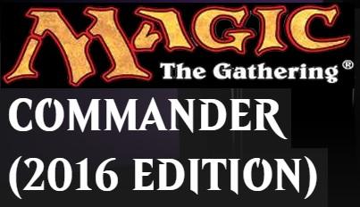 Commander 2016: Set of 5