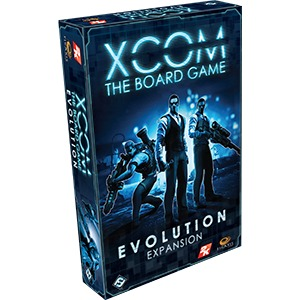 Evolution - Expansion (XCOM) - The Board Game