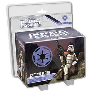 Star Wars: Imperial Assault - Captain Terro Villain Pack