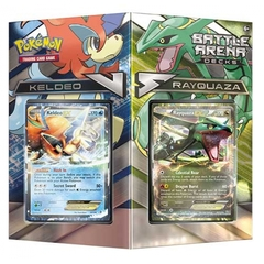 Battle Arena Deck : Rayquaza vs. Keldeo