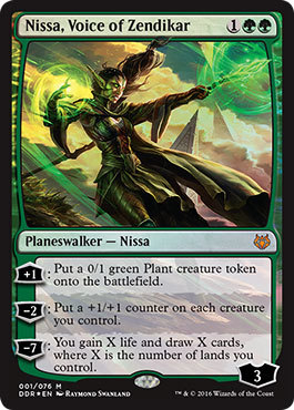 Nissa, Voice of Zendikar - Foil