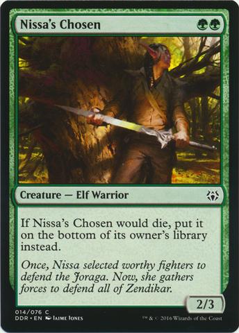 Nissas Chosen