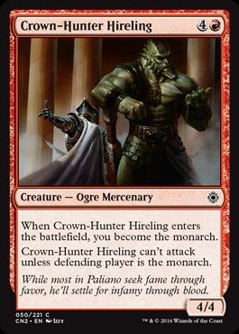 Crown-Hunter Hireling - Foil