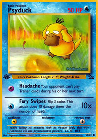 Psyduck - 53/62 - Common - 1st Edition