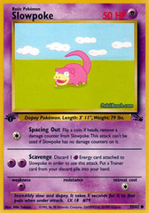 Slowpoke - 55/62 - Common - 1st Edition