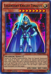 Legendary Knight Timaeus - DRL3-EN041 - Ultra Rare - 1st Edition