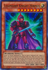 Legendary Knight Hermos - DRL3-EN062 - Ultra Rare - 1st Edition