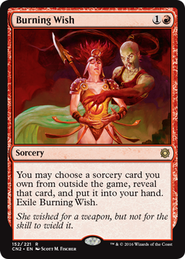 Burning Wish