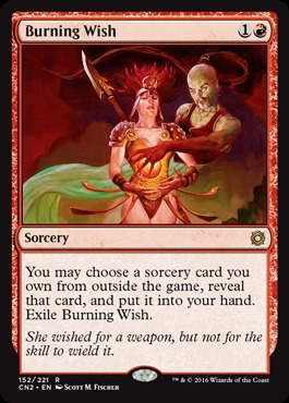 Burning Wish - Foil