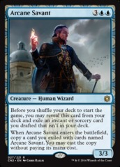 Arcane Savant on Channel Fireball