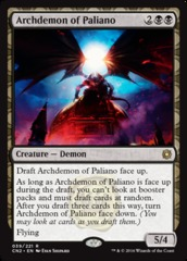 Archdemon of Paliano on Channel Fireball