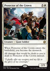 Protector of the Crown - Foil