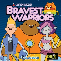 Bravest Warriors Co-operative Dice Game - Blue Deck
