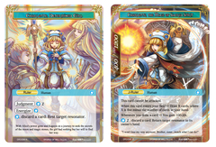 Charlotte, Determined Girl // Charlotte, The Mage of Sacred Spirit - CFC-038J - R on Channel Fireball