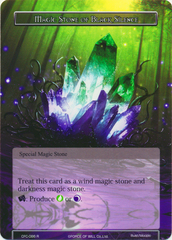 Magic Stone of Black Silence - CFC-086 - R - Textured Foil