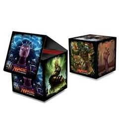 Ultra Pro - MAGIC THE GATHERING - CUB3 (CUBE) DECK BOX - BRAINSTORM