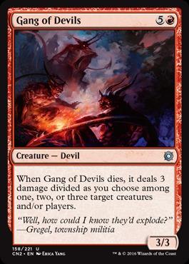 Gang of Devils - Foil