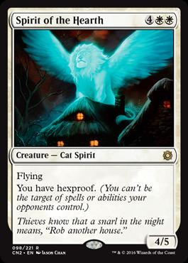 Spirit of the Hearth - Foil