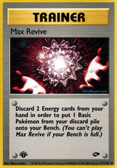 Max Revive - 117/132 - Uncommon - 1st Edition