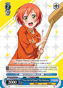 View the Full Moon! Rin Hoshizora - LL/EN-W02-E160 - C