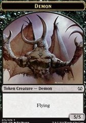 Demon Token on Channel Fireball