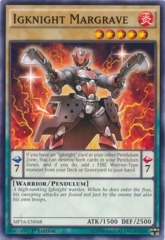 Igknight Margrave - MP16-EN068 - Common - 1st Edition