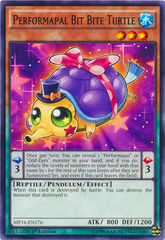 Performapal Bit Bite Turtle - MP16-EN176 - Common - 1st Edition