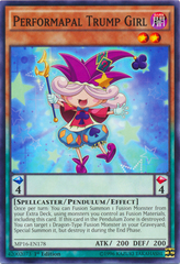 Performapal Trump Girl - MP16-EN178 - Common - 1st Edition