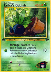 Erika's Oddish - 70/132 - Common - 1st Edition