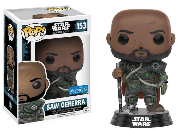 Star Wars Series - #153 - Saw Gerrera (Star Wars: Rogue One) [Walmart]