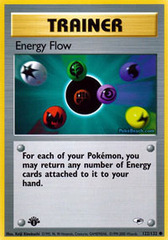 Energy Flow - 122/132 - Common - 1st Edition on Channel Fireball