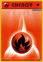Fire Energy - 128/132 - Common - 1st Edition