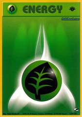 Grass Energy - 129/132 Common - 1st Edition