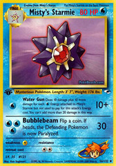 Misty's Starmie - 56/132 - Uncommon - 1st Edition