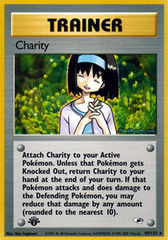 Charity - 99/132 - Rare - 1st Edition