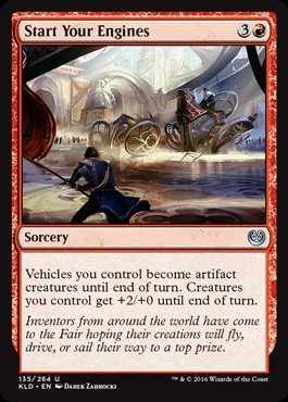 Start Your Engines - Foil
