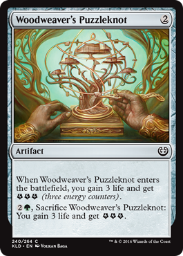 Woodweavers Puzzleknot - Foil