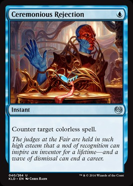 Ceremonious Rejection - Foil