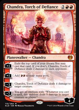 Chandra, Torch of Defiance - Foil