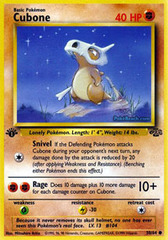 Cubone - 50/64 - Common - 1st Edition