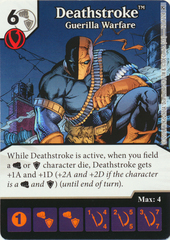 Deathstroke - Guerilla Warfare (Die & Card Combo)