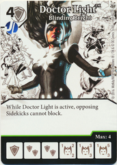 Doctor Light - Blinding Bright (Die & Card Combo)