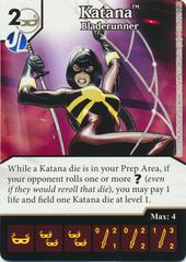 Katana  - Crisis and Tragedy (Die & Card Combo)