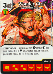 Wonder Girl - Daughter of Zeus (Die & Card Combo)