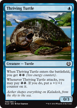 Thriving Turtle - Foil